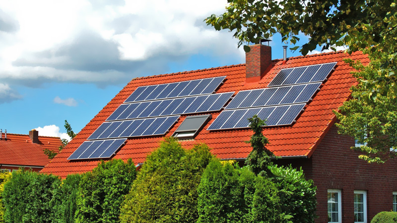 powering your home with a home solar system